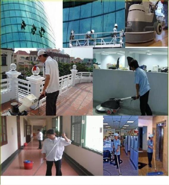 các bước dọn vệ sinh công nghiệp